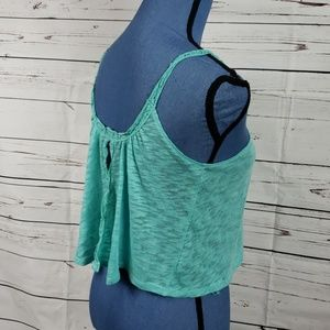 Keep Cool with Bethany Mota Seafoam Green Crop Top
